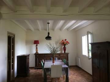 Peinture des murs et plafond bois